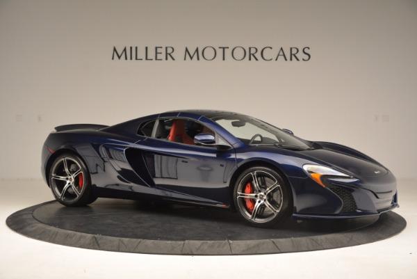 Used 2015 McLaren 650S Spider for sale Sold at Alfa Romeo of Westport in Westport CT 06880 23