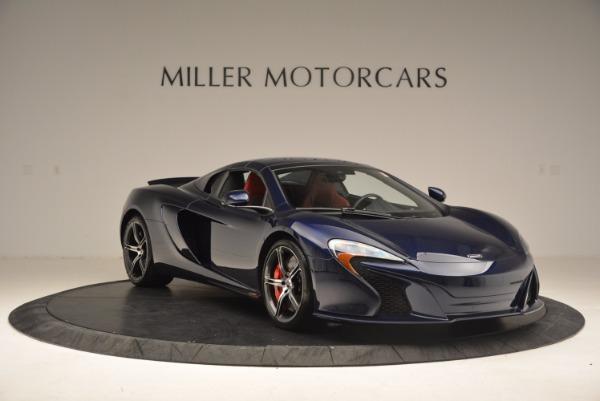 Used 2015 McLaren 650S Spider for sale Sold at Alfa Romeo of Westport in Westport CT 06880 24