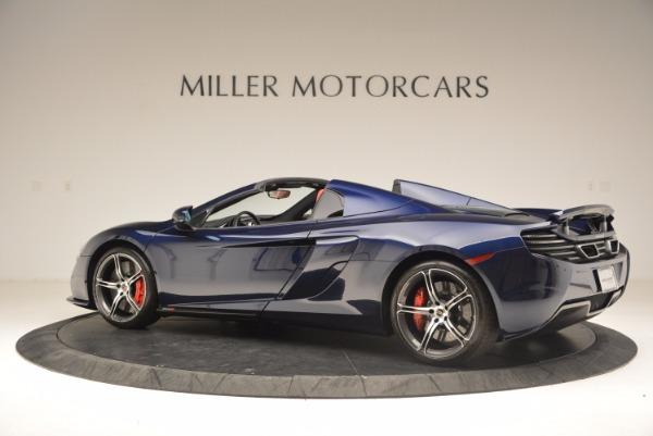 Used 2015 McLaren 650S Spider for sale Sold at Alfa Romeo of Westport in Westport CT 06880 4