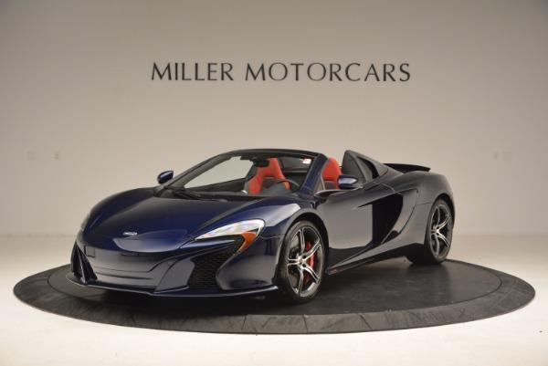 Used 2015 McLaren 650S Spider for sale Sold at Alfa Romeo of Westport in Westport CT 06880 1