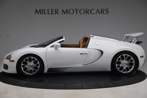 Used 2011 Bugatti Veyron 16.4 Grand Sport for sale Call for price at Alfa Romeo of Westport in Westport CT 06880 3