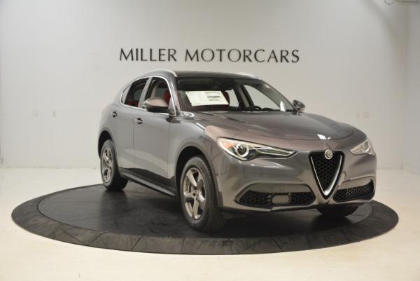 New 2018 Alfa Romeo Stelvio Q4 for sale Sold at Alfa Romeo of Westport in Westport CT 06880 11