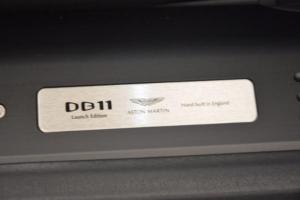 Used 2017 Aston Martin DB11 for sale Sold at Alfa Romeo of Westport in Westport CT 06880 21