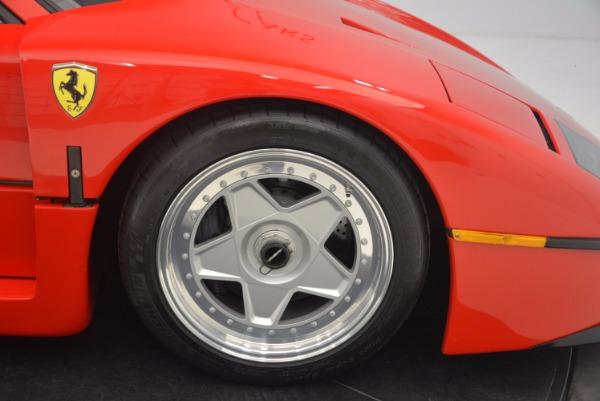 Used 1992 Ferrari F40 for sale Sold at Alfa Romeo of Westport in Westport CT 06880 21