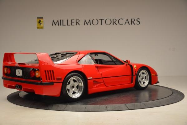 Used 1992 Ferrari F40 for sale Sold at Alfa Romeo of Westport in Westport CT 06880 9