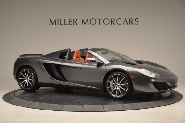 Used 2014 McLaren MP4-12C SPIDER Convertible for sale Sold at Alfa Romeo of Westport in Westport CT 06880 10