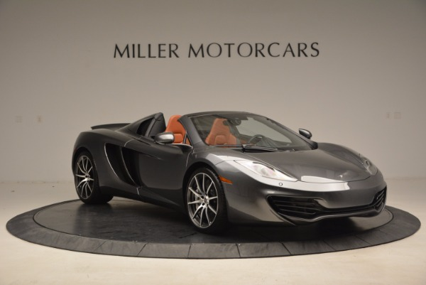 Used 2014 McLaren MP4-12C SPIDER Convertible for sale Sold at Alfa Romeo of Westport in Westport CT 06880 11