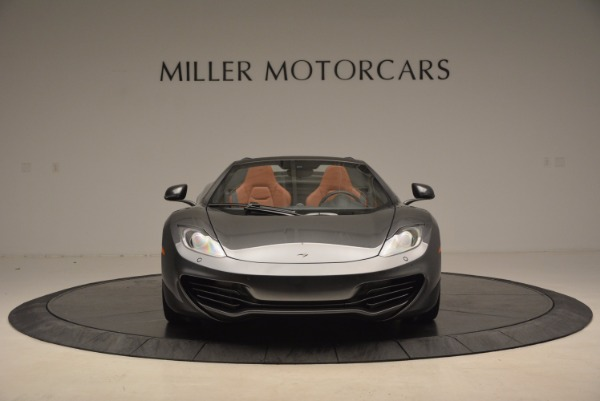 Used 2014 McLaren MP4-12C SPIDER Convertible for sale Sold at Alfa Romeo of Westport in Westport CT 06880 12