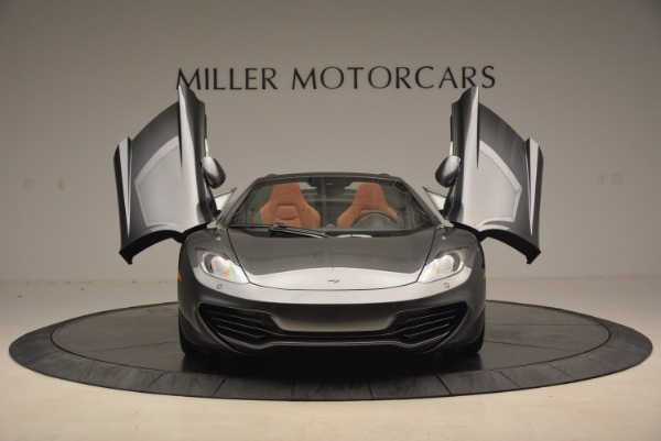 Used 2014 McLaren MP4-12C SPIDER Convertible for sale Sold at Alfa Romeo of Westport in Westport CT 06880 13