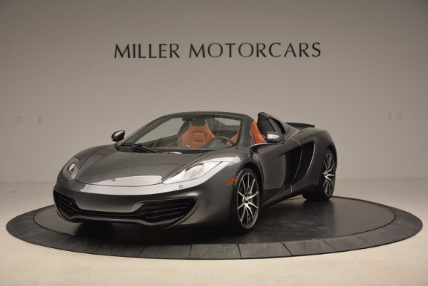 Used 2014 McLaren MP4-12C SPIDER Convertible for sale Sold at Alfa Romeo of Westport in Westport CT 06880 2