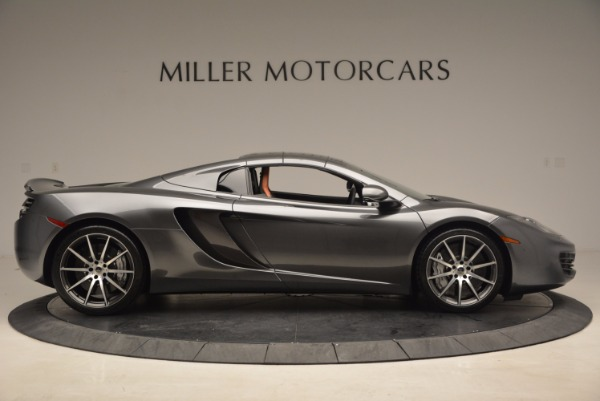 Used 2014 McLaren MP4-12C SPIDER Convertible for sale Sold at Alfa Romeo of Westport in Westport CT 06880 22