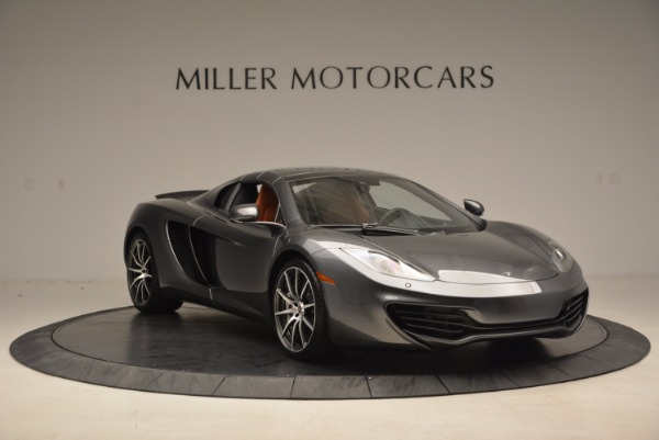 Used 2014 McLaren MP4-12C SPIDER Convertible for sale Sold at Alfa Romeo of Westport in Westport CT 06880 24