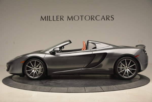 Used 2014 McLaren MP4-12C SPIDER Convertible for sale Sold at Alfa Romeo of Westport in Westport CT 06880 3