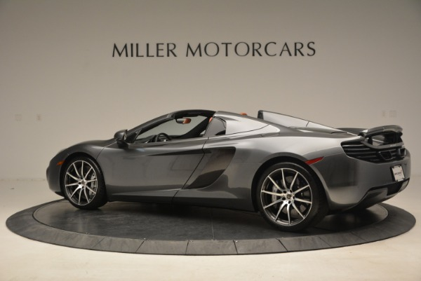 Used 2014 McLaren MP4-12C SPIDER Convertible for sale Sold at Alfa Romeo of Westport in Westport CT 06880 4