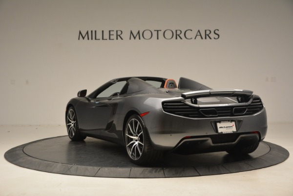 Used 2014 McLaren MP4-12C SPIDER Convertible for sale Sold at Alfa Romeo of Westport in Westport CT 06880 5