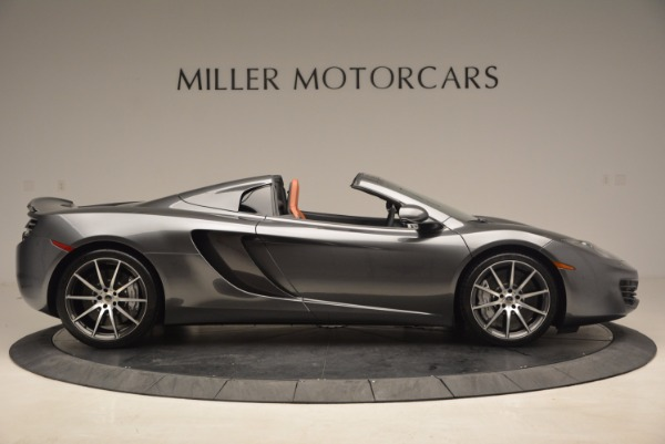 Used 2014 McLaren MP4-12C SPIDER Convertible for sale Sold at Alfa Romeo of Westport in Westport CT 06880 9