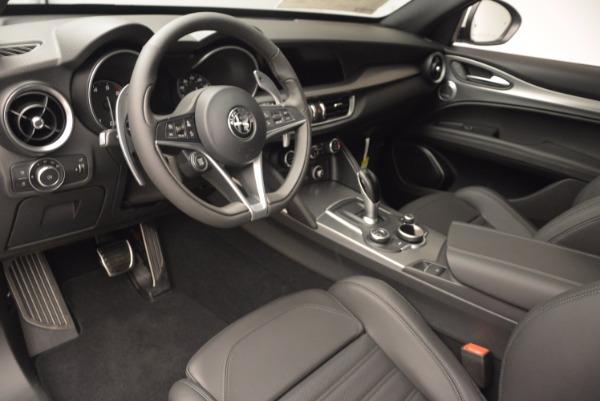 New 2018 Alfa Romeo Stelvio Ti Sport Q4 for sale Sold at Alfa Romeo of Westport in Westport CT 06880 13