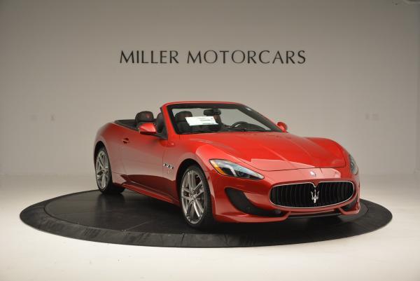 New 2017 Maserati GranTurismo Cab Sport for sale Sold at Alfa Romeo of Westport in Westport CT 06880 11