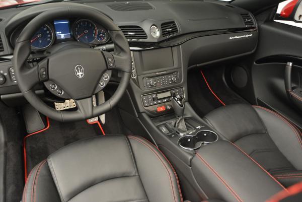 New 2017 Maserati GranTurismo Cab Sport for sale Sold at Alfa Romeo of Westport in Westport CT 06880 20