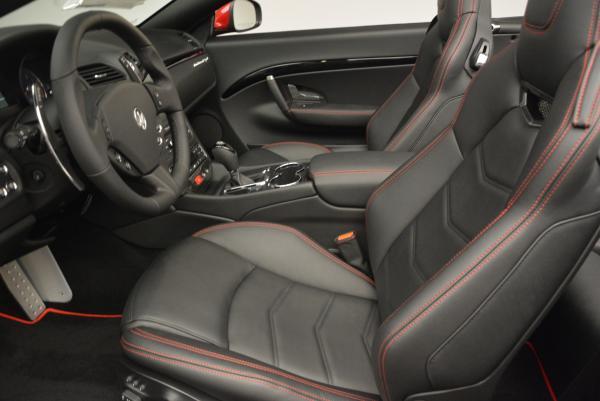 New 2017 Maserati GranTurismo Cab Sport for sale Sold at Alfa Romeo of Westport in Westport CT 06880 21