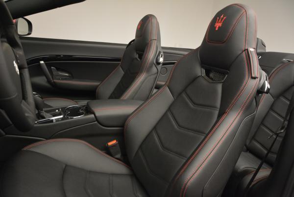 New 2017 Maserati GranTurismo Cab Sport for sale Sold at Alfa Romeo of Westport in Westport CT 06880 22