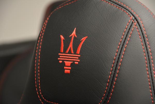 New 2017 Maserati GranTurismo Cab Sport for sale Sold at Alfa Romeo of Westport in Westport CT 06880 23
