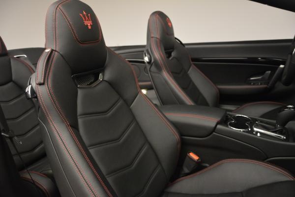 New 2017 Maserati GranTurismo Cab Sport for sale Sold at Alfa Romeo of Westport in Westport CT 06880 27