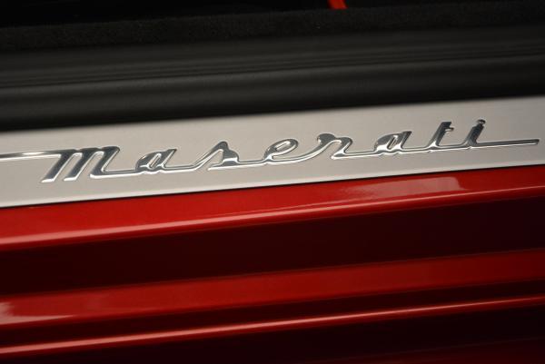 New 2017 Maserati GranTurismo Cab Sport for sale Sold at Alfa Romeo of Westport in Westport CT 06880 28