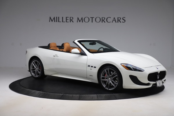 New 2017 Maserati GranTurismo Convertible Sport for sale Sold at Alfa Romeo of Westport in Westport CT 06880 10