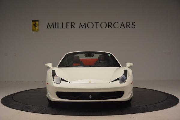 Used 2015 Ferrari 458 Spider for sale Sold at Alfa Romeo of Westport in Westport CT 06880 12