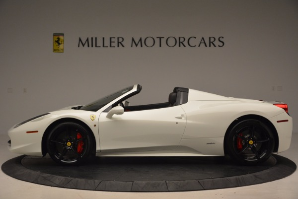 Used 2015 Ferrari 458 Spider for sale Sold at Alfa Romeo of Westport in Westport CT 06880 3
