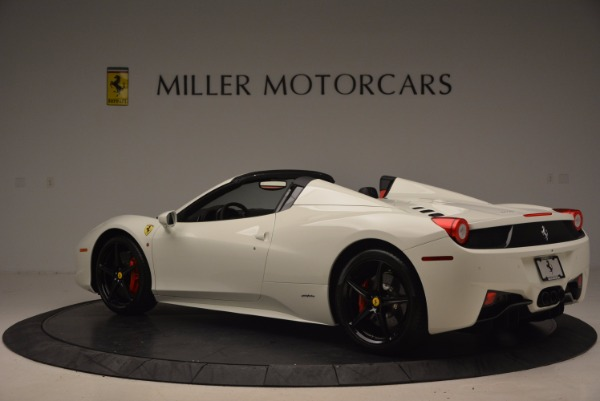Used 2015 Ferrari 458 Spider for sale Sold at Alfa Romeo of Westport in Westport CT 06880 4