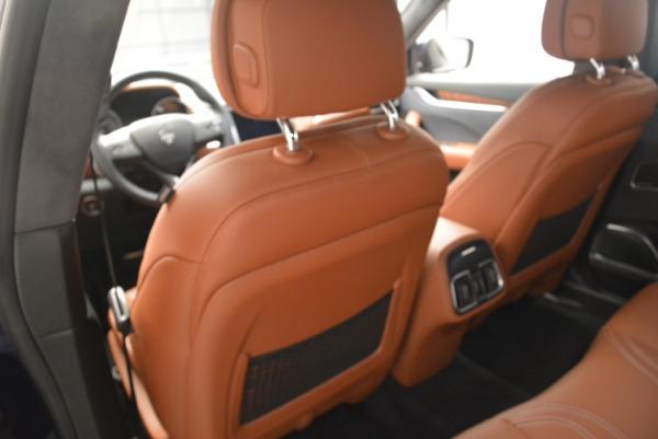 Used 2018 Maserati Levante Q4 GranLusso for sale $61,900 at Alfa Romeo of Westport in Westport CT 06880 19