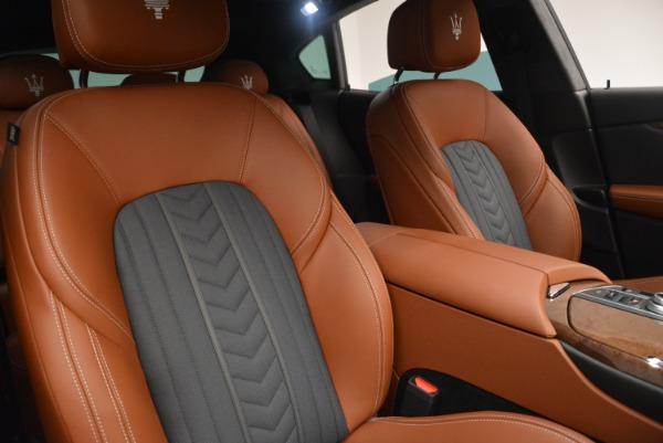 New 2018 Maserati Levante Q4 GranLusso for sale Sold at Alfa Romeo of Westport in Westport CT 06880 25