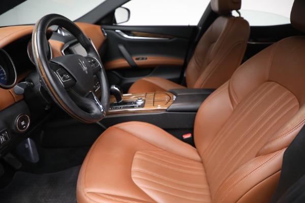 Used 2018 Maserati Ghibli S Q4 GranLusso for sale $56,900 at Alfa Romeo of Westport in Westport CT 06880 12