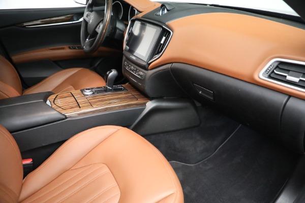 Used 2018 Maserati Ghibli S Q4 GranLusso for sale $56,900 at Alfa Romeo of Westport in Westport CT 06880 19