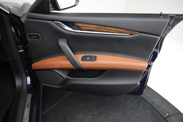 Used 2018 Maserati Ghibli S Q4 GranLusso for sale $56,900 at Alfa Romeo of Westport in Westport CT 06880 22