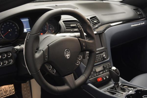 New 2016 Maserati GranTurismo Convertible Sport for sale Sold at Alfa Romeo of Westport in Westport CT 06880 18