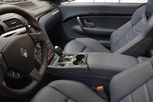 New 2016 Maserati GranTurismo Convertible Sport for sale Sold at Alfa Romeo of Westport in Westport CT 06880 21