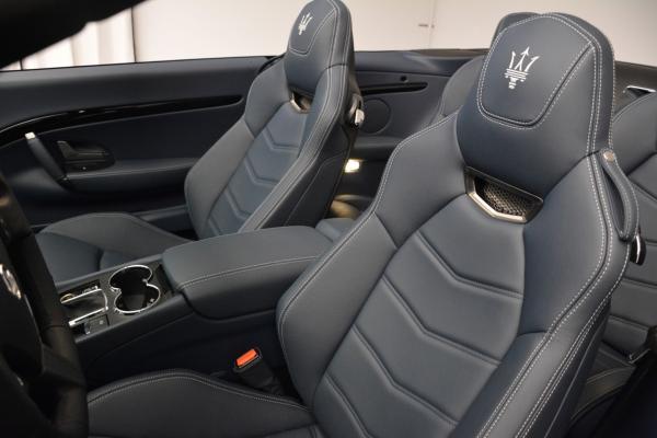 New 2016 Maserati GranTurismo Convertible Sport for sale Sold at Alfa Romeo of Westport in Westport CT 06880 22