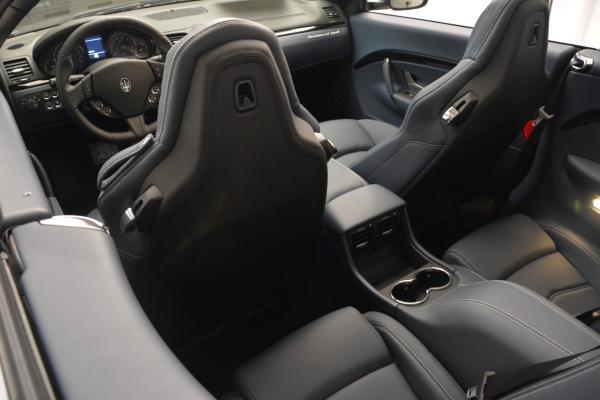 New 2016 Maserati GranTurismo Convertible Sport for sale Sold at Alfa Romeo of Westport in Westport CT 06880 23