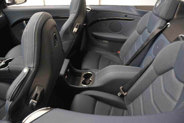 New 2016 Maserati GranTurismo Convertible Sport for sale Sold at Alfa Romeo of Westport in Westport CT 06880 24