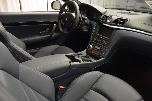New 2016 Maserati GranTurismo Convertible Sport for sale Sold at Alfa Romeo of Westport in Westport CT 06880 27