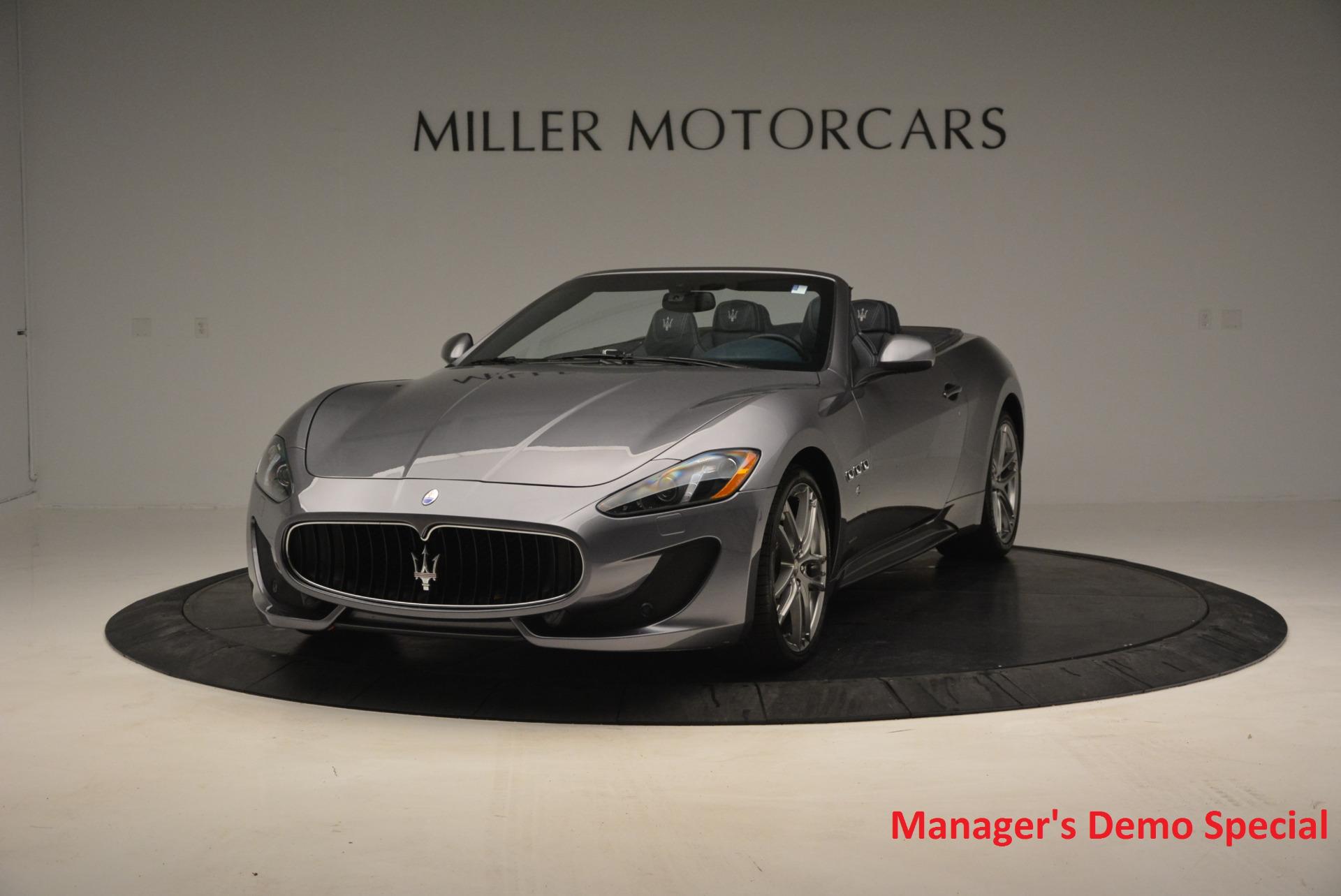 New 2016 Maserati GranTurismo Convertible Sport for sale Sold at Alfa Romeo of Westport in Westport CT 06880 1