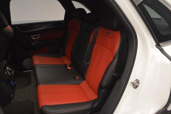 Used 2018 Bentley Bentayga Onyx for sale Call for price at Alfa Romeo of Westport in Westport CT 06880 23