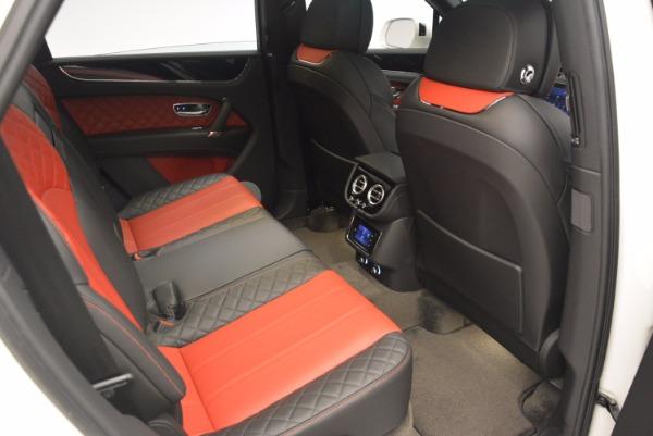 Used 2018 Bentley Bentayga Onyx for sale Call for price at Alfa Romeo of Westport in Westport CT 06880 24