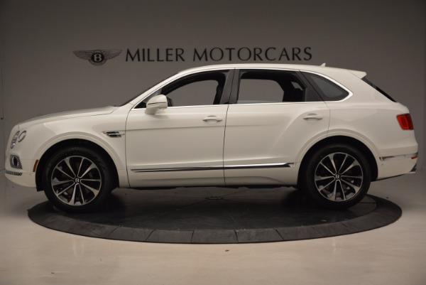 New 2018 Bentley Bentayga Onyx for sale Sold at Alfa Romeo of Westport in Westport CT 06880 3
