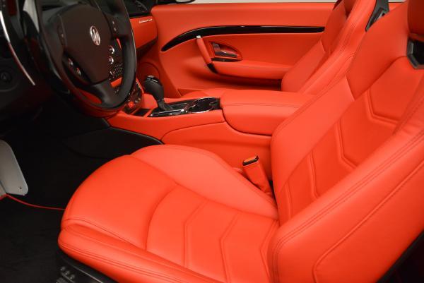 New 2016 Maserati GranTurismo Convertible Sport for sale Sold at Alfa Romeo of Westport in Westport CT 06880 26