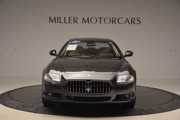 Used 2010 Maserati Quattroporte S for sale Sold at Alfa Romeo of Westport in Westport CT 06880 12