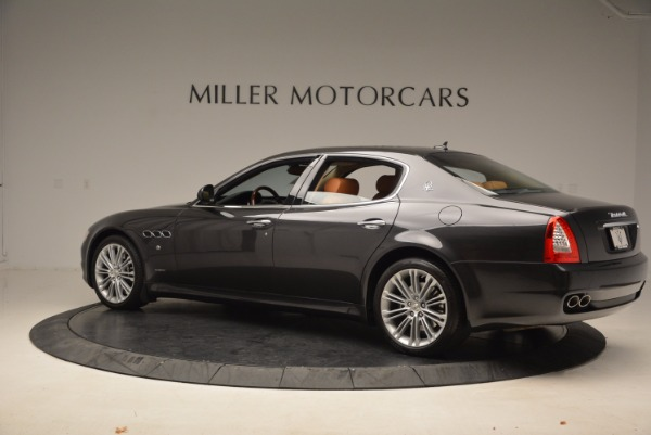 Used 2010 Maserati Quattroporte S for sale Sold at Alfa Romeo of Westport in Westport CT 06880 4